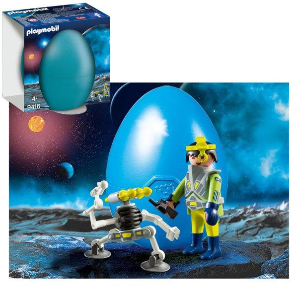 Playmobil Великденско яйце Космически агент с робот 9416