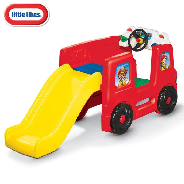Little Tikes Детски център за игра с пързалка Пожарна кола 173776