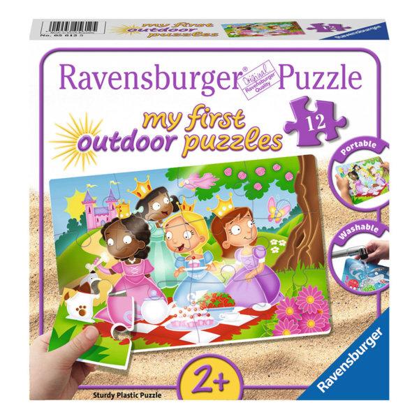 Ravensburger Детски пъзел 2+ Outdoor Принцеси приятелки 12 части 05612