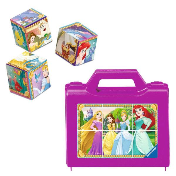Ravensburger Детски кубчета Disney Принцеси 6 части 07428