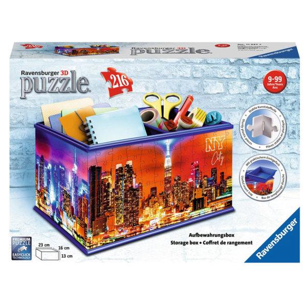 Ravensburger Пъзел 3D 9+ Кутия за съхранение Ню Йорк 216 части 11227