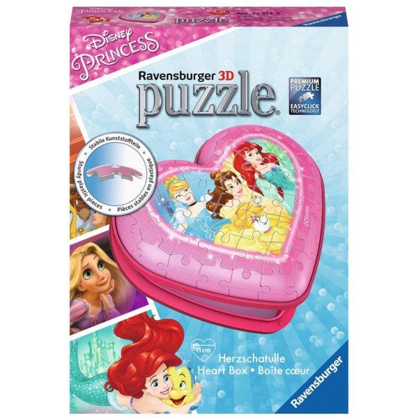 Ravensburger Пъзел 3D Направи си кутия за бижута Disney Принцеси 12114
