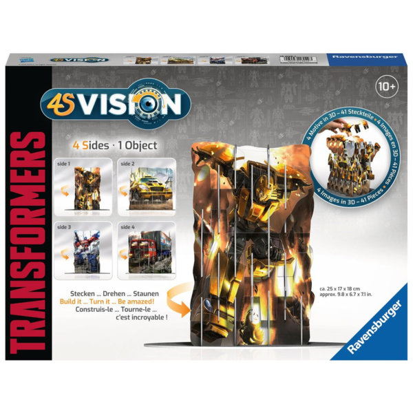 Ravensburger Детски пъзел 4S Vision Transformers 18049