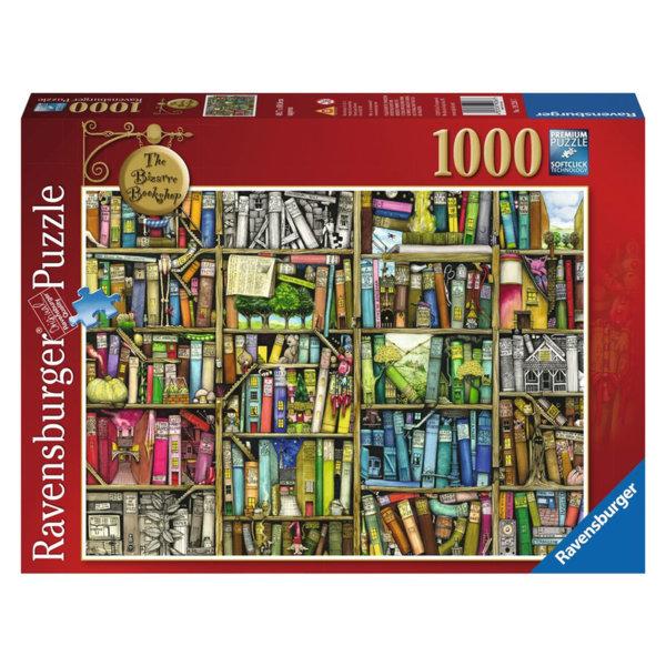 Ravensburger Пъзел 14+ Ексцентрична книжарница 1000 части 19226