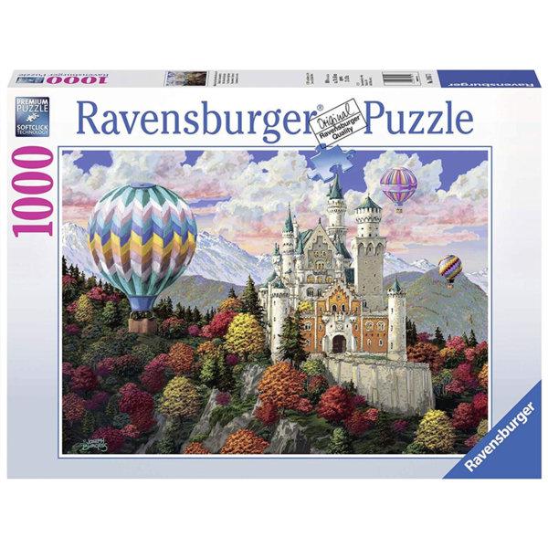 Ravensburger Пъзел 14+ Замък Нойшванщайн 1000 части 19857