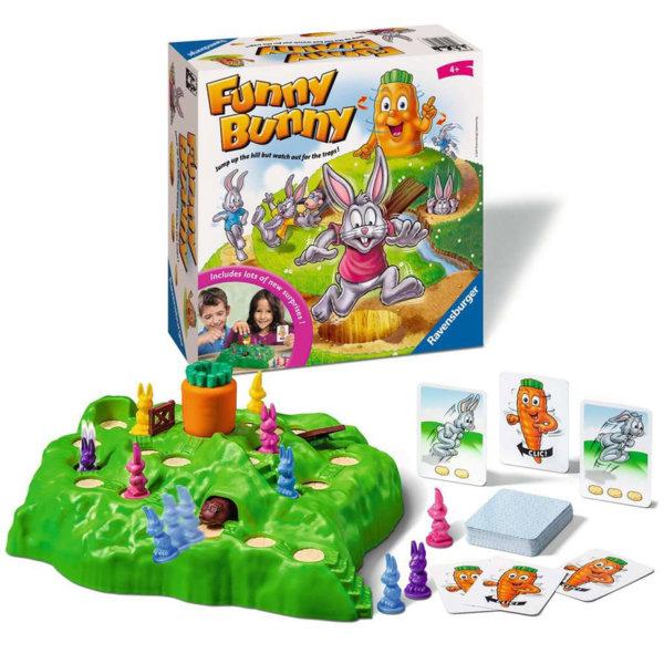 Ravensburger Детска игра Веселото Зайче Funny Bunny 21330