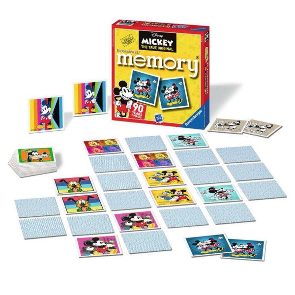 Ravensburger Детска игра Мемори Disney Мики Маус 21411