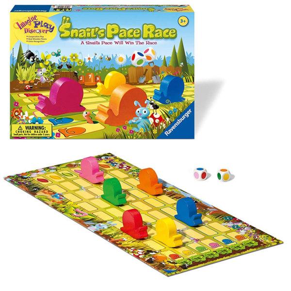 Ravensburger Детска игра Състезание с охлюви 22052