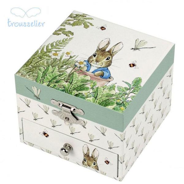 Trousselier Музикална кутия зайчето Питър 20860