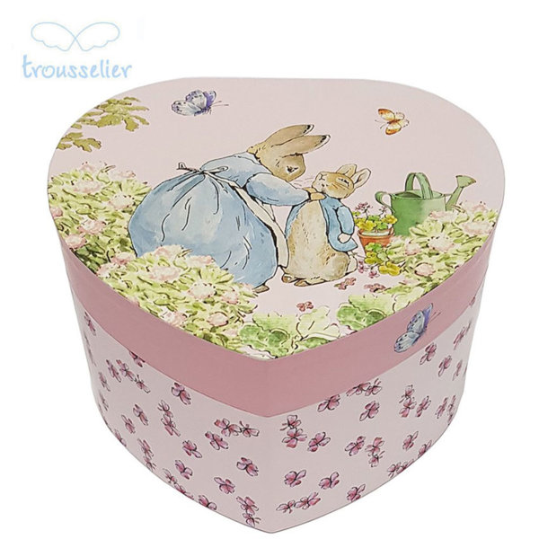 Trousselier Музикална кутия сърце Зайчето Питър 30860