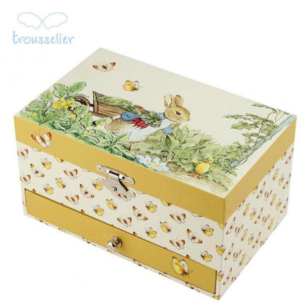 Trousselier Музикална кутия зайчето Питър 60860