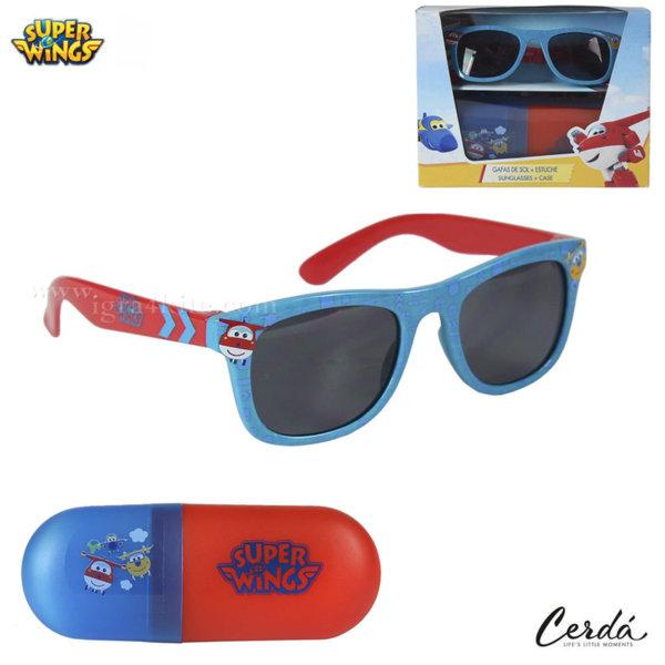 Super Wings Комплект слънчеви очила с калъф Супер Уингс 0646