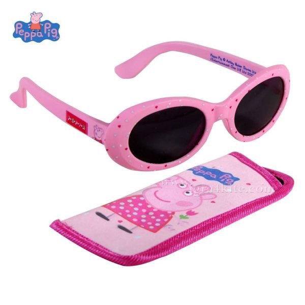 Peppa Pig Комплект слънчеви очила с калъф Пепа Пиг 172314