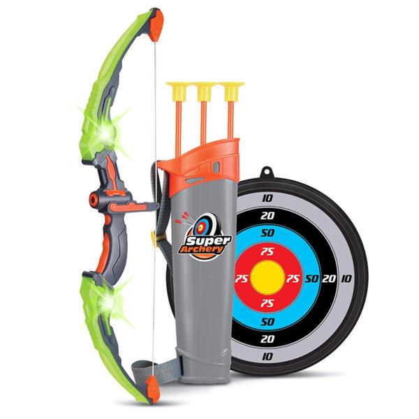 Kids Sport Детски комплект светещ лък със стрели и мишена 181524
