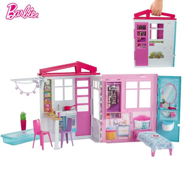 Barbie Барби Преносима лятна къща FXG54