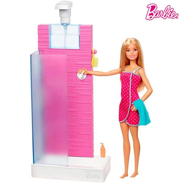 Barbie Кукла Барби Душ кабина DVX51