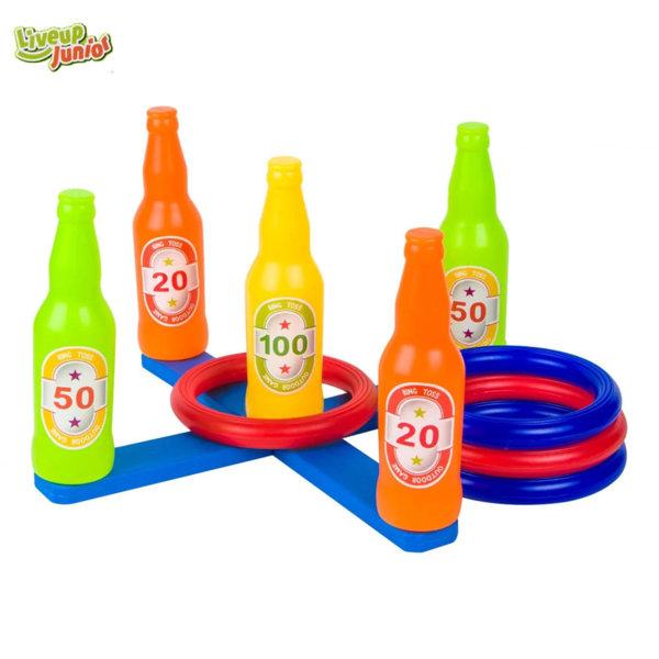 Liveup Junior Детскa игра Ring Toss с 4 ринга Y1806
