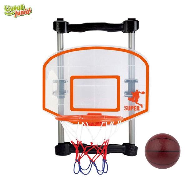 Liveup Junior Баскетболен кош за игра на закрито 39881B