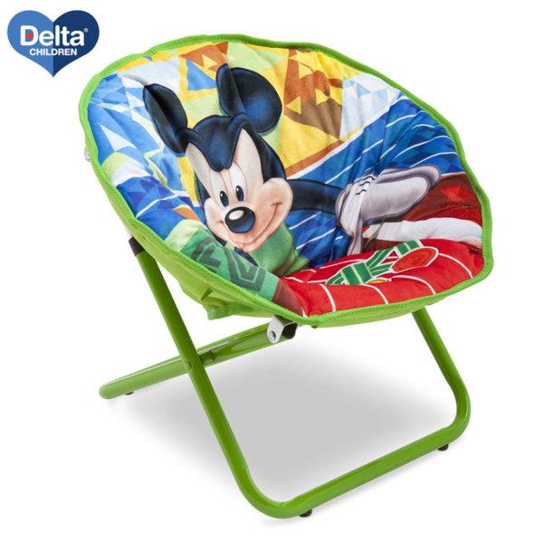 Delta Children Детски сгъваем стол Disney Мики Маус TC85762MM