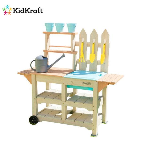 KidKraft Greenville Детска дървена градинска количка 00415