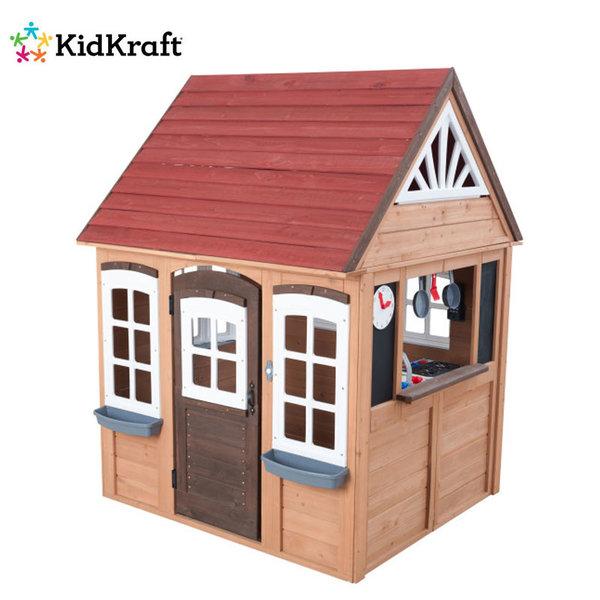 KidKraft Детска дървена къща за игра Fairmeadow House 10023
