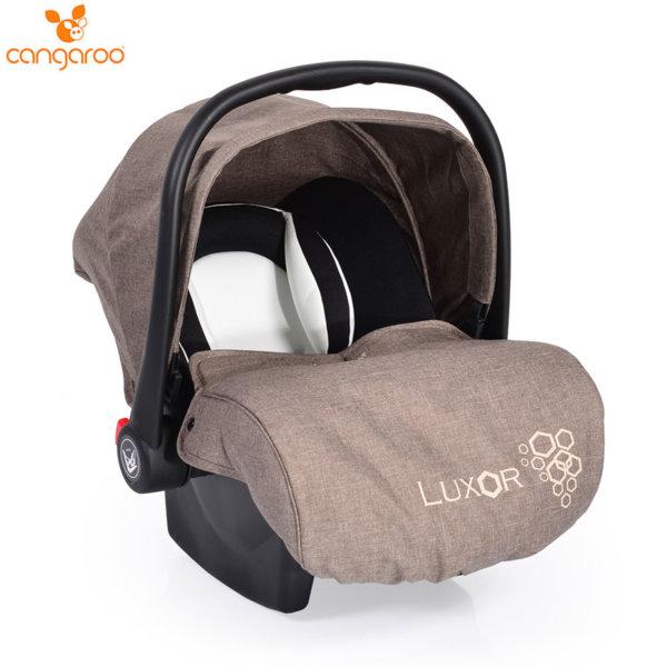 Cangaroo Детско столче кошничка за кола Luxor (0-13кг) бежова 104111