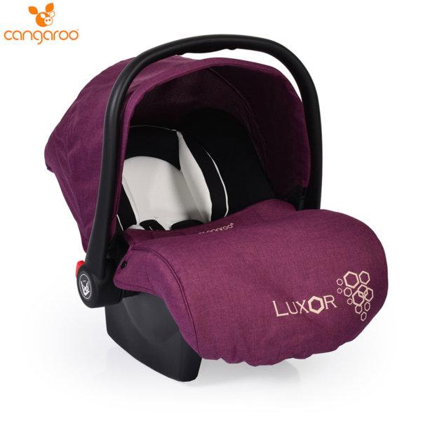Cangaroo Детско столче кошничка за кола Luxor (0-13кг) лилава 104112