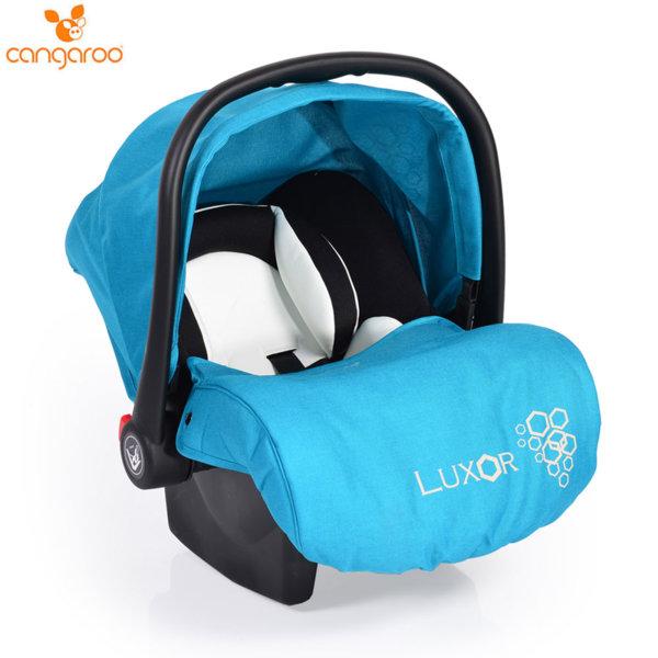 Cangaroo Детско столче кошничка за кола Luxor (0-13кг) тюркоаз 104114