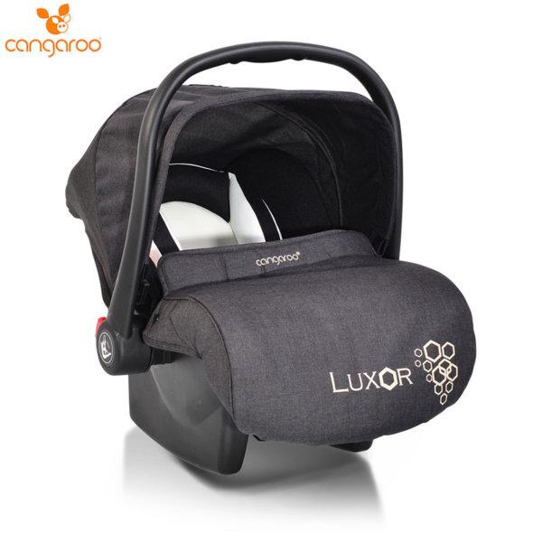 Cangaroo Детско столче кошничка за кола Luxor (0-13кг) черна