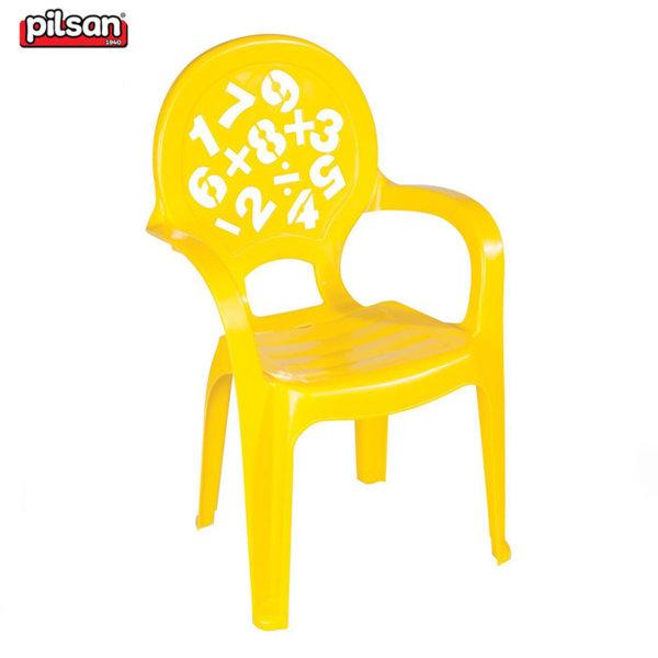 Pilsan Детски стол 03412 жълт