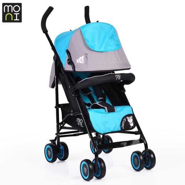 Moni Детска лятна количка Jerry тюркоаз 104226