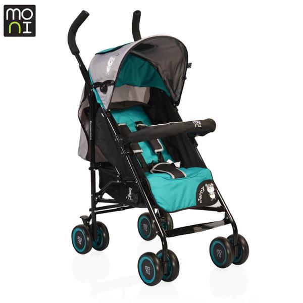 Moni Детска лятна количка Jerry зелена 106294