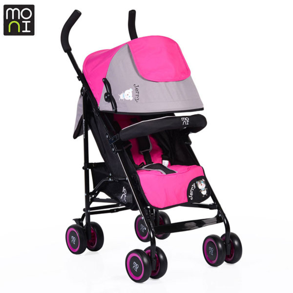 Moni Детска лятна количка Jerry розова 104227