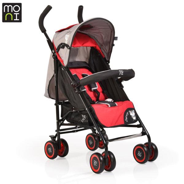 Moni Детска лятна количка Jerry червен 106295