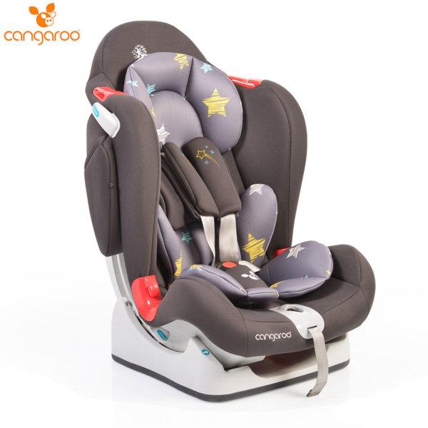 Cangaroo Детско столче за кола Brave (0-25кг) сиво 106253
