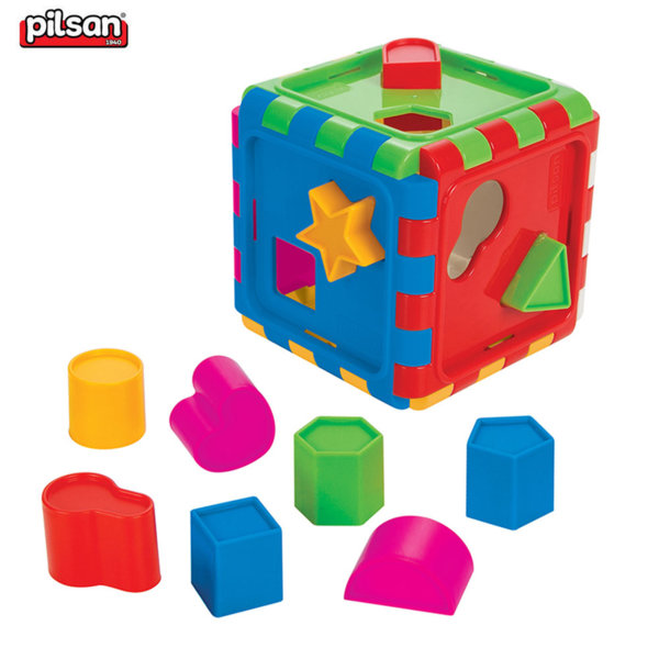Pilsan Пластмасово кубче сортер с огледало 03226
