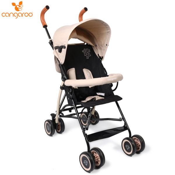 Cangaroo Детска лятна количка Diamond бежова 106844