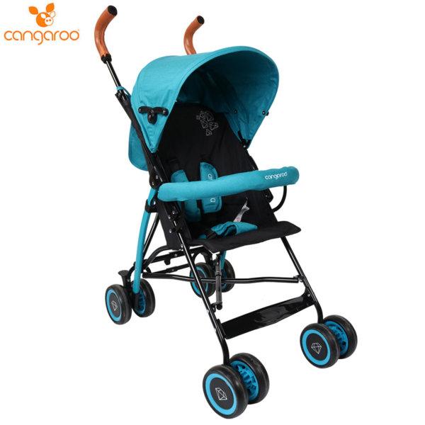 Cangaroo Детска лятна количка Diamond синя 106846
