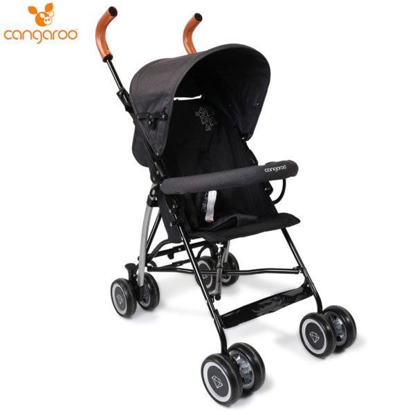 Cangaroo Детска лятна количка Diamond черна 106847