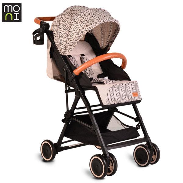 Moni Детска лятна количка Compact бежова 106915