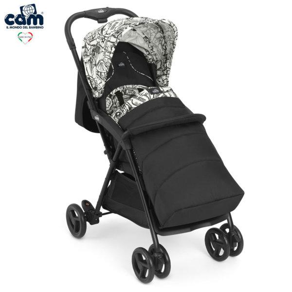 Cam Детска количка Curvi с покривало за крачета 831/136