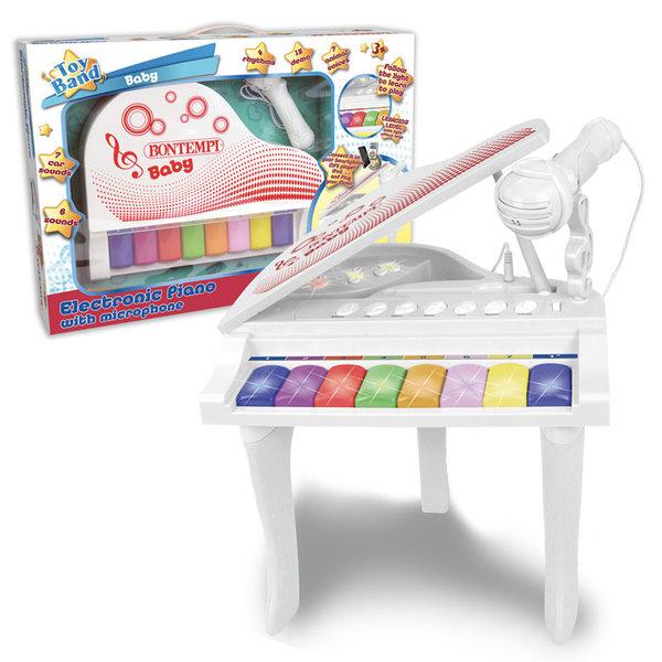 Bontempi Детско електронно пиано с микрофон 102025