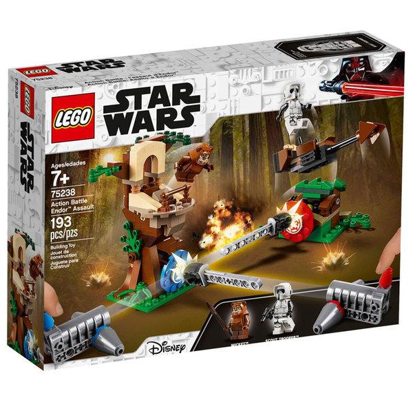 Lego 75238 Star Wars Екшън битка нападение на Ендор