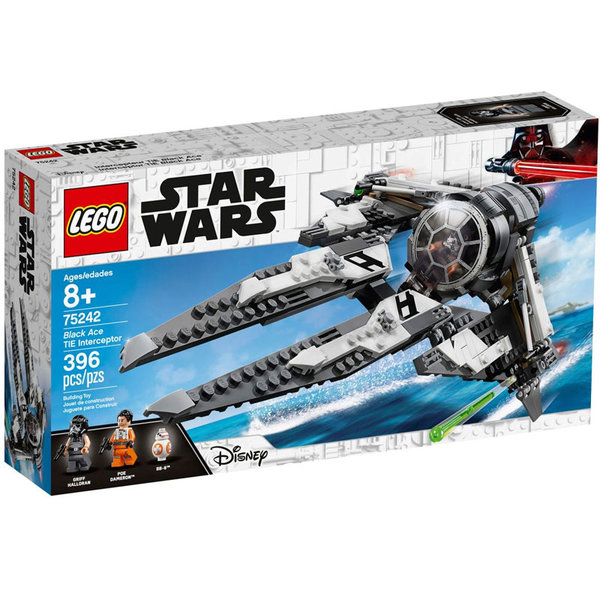 Lego 75242 Star Wars Black Ace TIE Изтребител