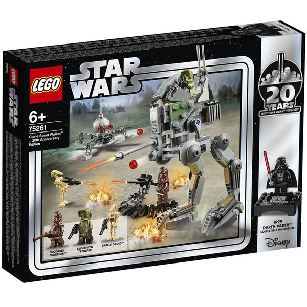 Lego 75261 Star Wars Clone Scout Walker I Издание за 20-годишнината на ЛЕГО СТАР УОРС