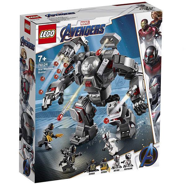 Lego 76124 Super Heroes Marvel Avengers Бъстър Бойната машина