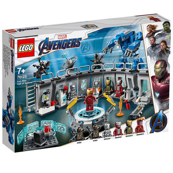 Lego 76125 Super Heroes Marvel Avengers Iron Man Hall of Armour