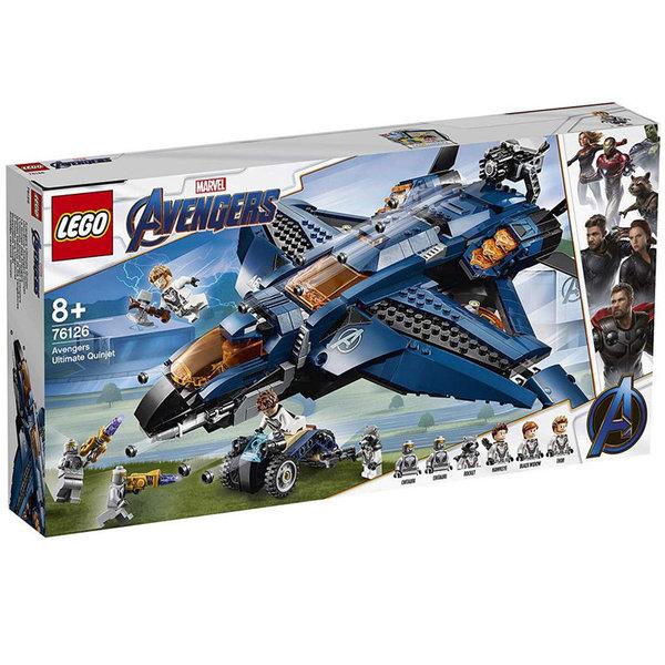 Lego 76126 Super Heroes Marvel Avengers Последният Куинджет на Отмъстителите