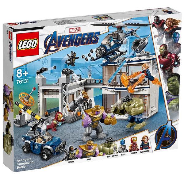 Lego 76131 Super Heroes Marvel Avengers Битка при базата на Отмъстителите