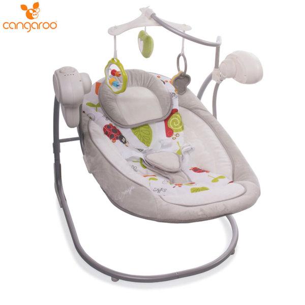 Cangaroo Бебешка люлка Yoyo сива 106498